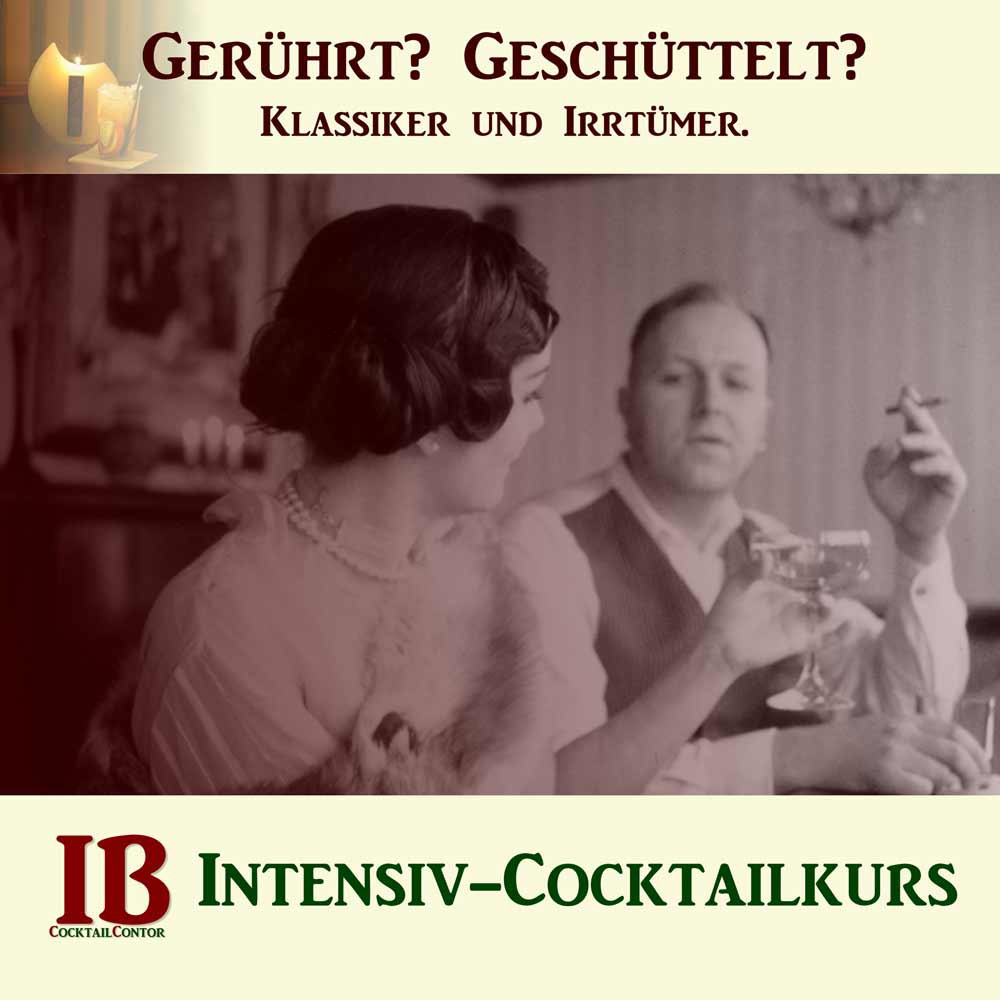 Intensiv-Cocktailkurs in Köln